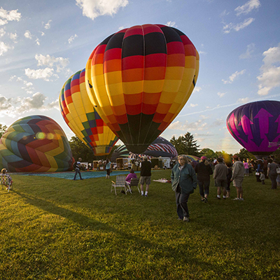 Jamesville Balloonfest: credit Wainwright Photography